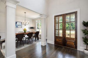 interior foyer of home